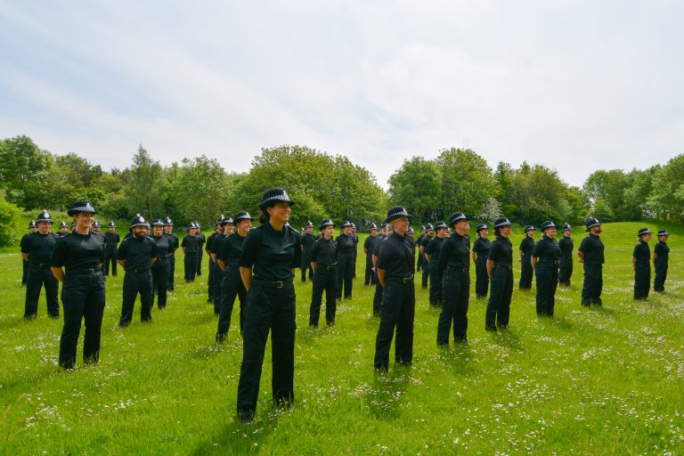 553 new recruits have joined Northumbria Police since March 2020, smashing Government targets