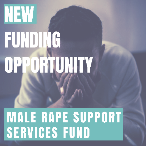 New funding for male rape support services