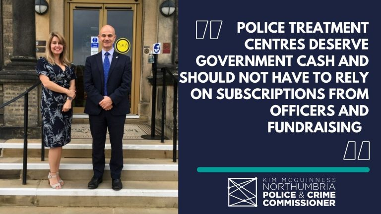 """PCC Kim McGuinness calls for Police wellbeing charity to start receiving government cash """"out of respect"""""""